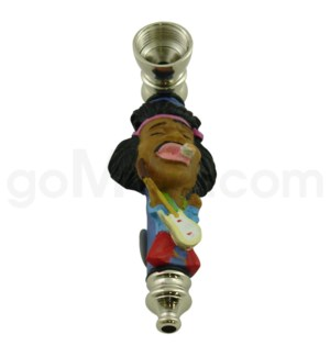 "3.5"" Metal Polyresin Pipe   -Jimmy Hendrix A"