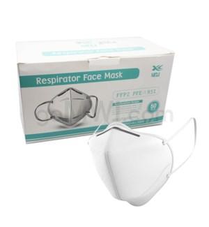 KN95 4 PLY Mask 50PCS/BX - Individually wrapped w/UPC