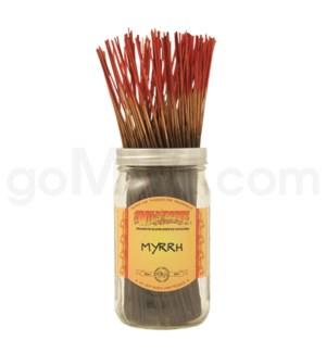 Wildberry Incense Myrrh 100/ct