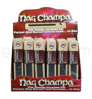DISC Nag Champa Incense Kit 24ct/18cs