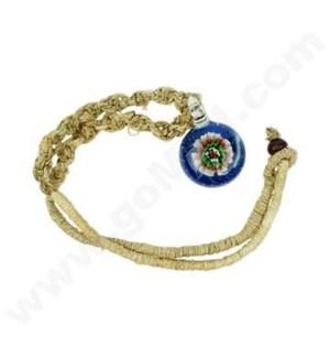 DISC Hemp Necklace Flower Pedant