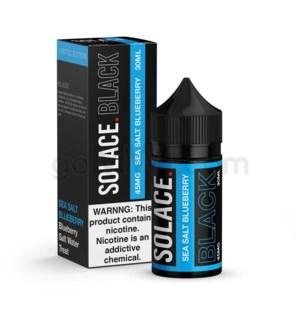 Solace Black Nic Salt 30ml 45mg - Sea Salt Blueberry