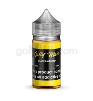 Salty Man Nic Salt 30ml 50mg - Blue's Mango