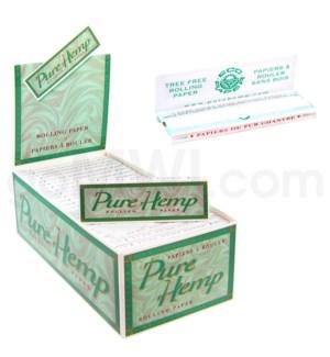 Pure Hemp Papers 50CT/BX GREEN BOX