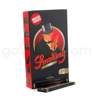 """Smoking Deluxe 1 1/4"""" Rolling Paper 50/pk 25ct/bx"""