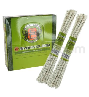 Smokin Clean Pipe Cleaner Hard Bristle - 24CT/BX
