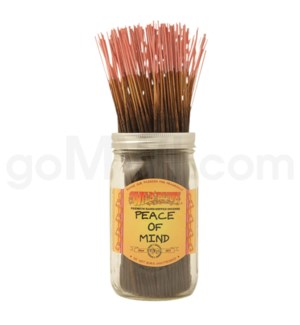 Wildberry Incense Peace of Mind 100/ct