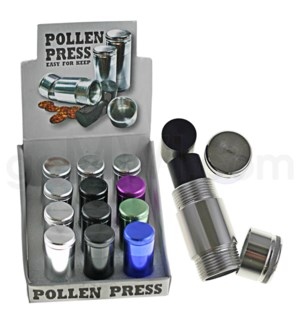 Pollen Press Anodized 12PC/BX