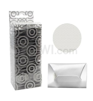 Pipe Screens Silver 5ct/pack 100CT/BX assorted sizes