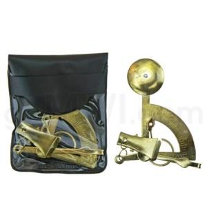 DISC Postal Gold Scales 30PC/BX