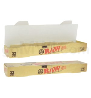 """Raw Classic 1 1/4"""" Pre-Rolled Cones 32ct/bx"""