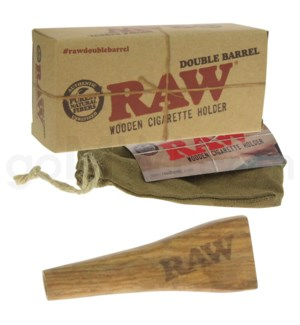 RAW Double Barrel King Size10/cs
