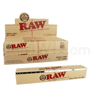 Raw Parchment Paper 300mm x 10m 6CT/BX