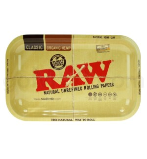 RAW Rolling Tray Metal - Small 11x7in