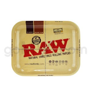 RAW Rolling Tray Metal - Large 14x11inch