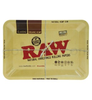 RAW Rolling Tray Metal - Mini 5x7in