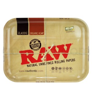 RAW Rolling Tray Metal XXL 20x15inches