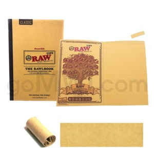 Raw Natural Unrefined Tips - Book of 480CT