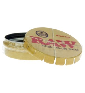 Raw Round Tin