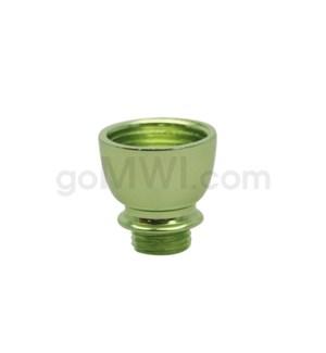 DISC Pipe Regular Metal Bowl Nickel Green