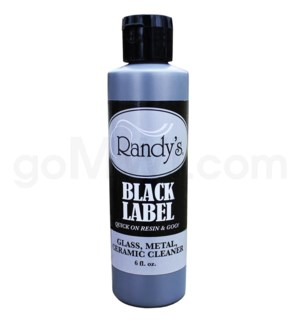 Randy's Glass Cleaner Black Label 6oz