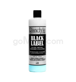 Randy's Glass Cleaner Black Label 12oz/16PC/BX