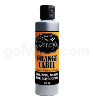 Randy's Glass Cleaner Orange Label 6oz