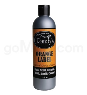 Randy's Glass Cleaner Orange Label 12oz