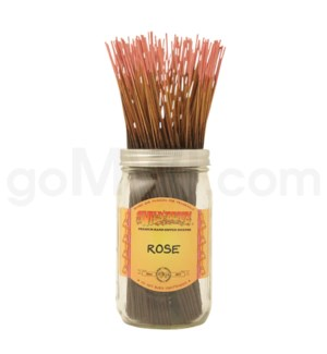 Wildberry Incense Rose 100/ct