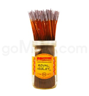Wildberry Incense Royal Violet 100/ct