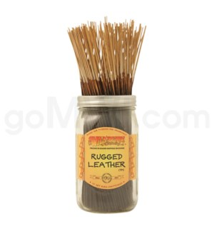 Wildberry Incense Rugged Leather 100/ct