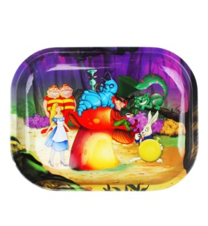 V Syndicate 5x7in Mini Rolling Tray- Alice Mushroom