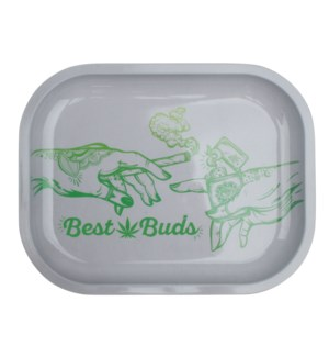 Smoke Arsenal 5x7in Mini Rolling Tray- Best Buds