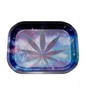 Smoke Arsenal 5x7in Mini Rolling Tray- Blueberry Kush