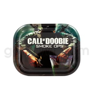 V Syndicate 5x7in Mini Rolling Tray - Call of Doobie