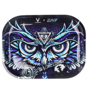DISC V Syndicate 5x7in Mini Rolling Tray- First Earth Owl