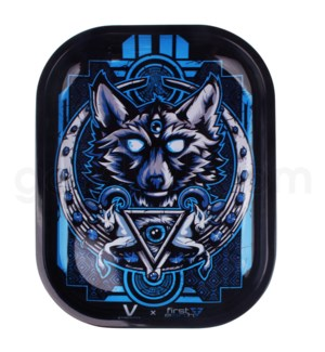 V Syndicate 5x7in Mini Rolling Tray- First Earth Wolf