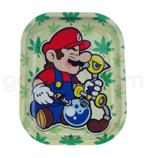 Smoke Arsenal 5x7in Mini Rolling Tray-Mario
