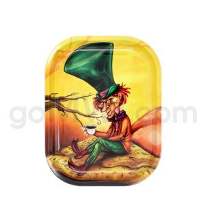 DISC V Syndicate 5x7in Mini Rolling Tray- Mad Hatter