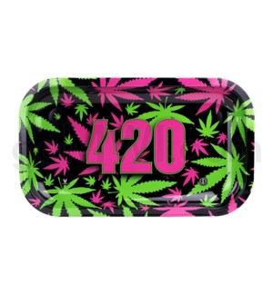 V Syndicate 11x7in Medium Rolling Tray- 420 Retro