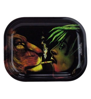 Smoke Arsenal 11x7in Medium Rolling Tray- Animal Spirit