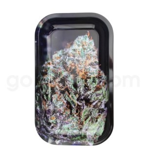 V Syndicate 11x7in Medium Rolling Tray- Bubba Kush Strains