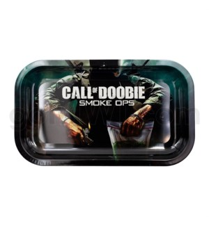 V Syndicate 11x7in Medium Rolling Tray- Call of Doobie