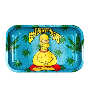 Smoke Arsenal 11x7in Medium Rolling Tray- Enlightenment