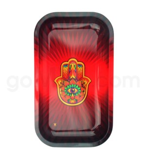 Smoke Arsenal 11x7in Medium Rolling Tray- Hamsa