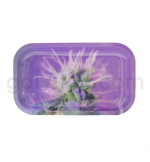 V Syndicate 11x7in Medium Rolling Tray- Pink Lemonade