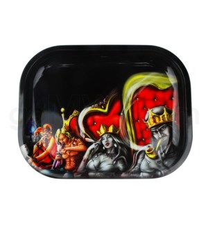 V Syndicate 11x7in Medium Rolling Tray- Royal Highness Cou
