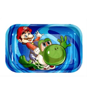Smoke Arsenal 11x7in Medium Rolling Tray- Super Mario