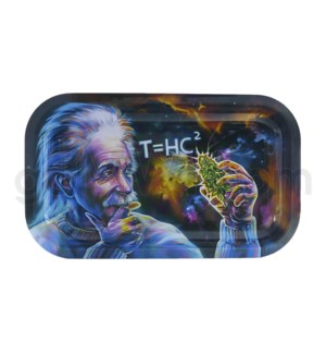 V Syndicate 11x7in Medium Rolling Tray- T=HC2 Black Hole