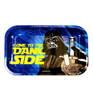 Smoke Arsenal 11x7in Medium Rolling Tray- To The Dank Side